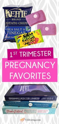 1st Trimester Pregnancy Favorites on T1D Living Blog 8adfa97379814