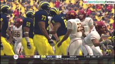 The Minnesota Golden Gophers VS The Michigan Wolverines In A NCAA Football 10 Football Match This video showcases Gameplay of The Minnesota Golden Gophers VS The Michigan Wolverines In A NCAA Football 10 Football Match