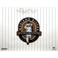 Mariano Rivera Signed 20x24 Retirement Logo Photo w NYY 1995-2013 Insc