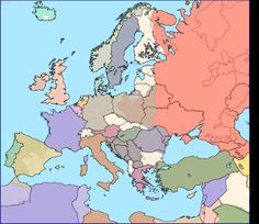Present days borders over 1937's countries, centered on Europe - or why my grandparents could claim four different nationalities while living in the same house for forty years.