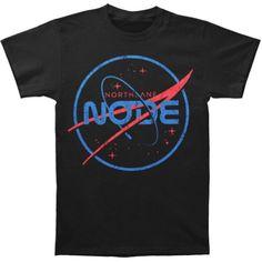 Northlane Men's NASA T-shirt Black Rockabilia