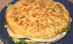 Tutorial: Tortilla de patata rellena