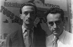 Salvador Dali, and Man Ray. Paris 1920s.