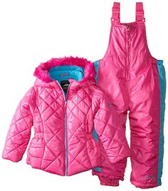 Pacific Trail Little Girls' Snowsuit with Quilted Puffer Coat Snow Wear, Snow Suit, Baby Bottles, Program Design, Latest Fashion Trends, Canada Goose Jackets, Saving Money, Little Girls, Girl Fashion