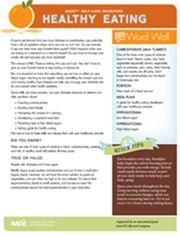 HealthyEatingWorksheet