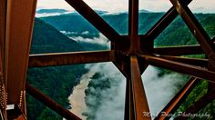 This is what you'll see on a Bridge Walk Tour The New River Gorge Bridge by Mark Poore