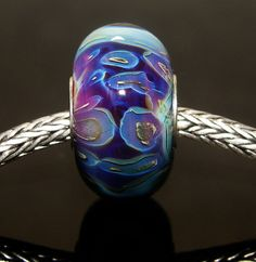 Let's See Your Webbed Beads from Amy K's new Tutorial!!! :) - Page 4 - Lampwork Etc.