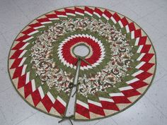 quilted christmas tree skirt pattern | tree skirt look lovely under your christmas tree this year