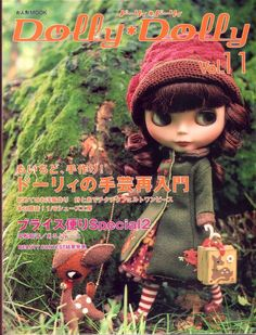 Herbie's Doll Sewing, Knitting & Crochet Pattern Collection: Dolly Dolly Vol.11 - Blythe & Momoko Doll Sewing Patterns Book