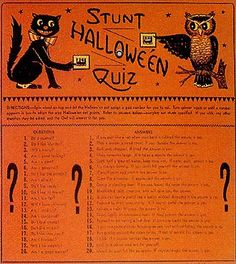 The Vintage Halloween Website: Halloween Party & Decorating Ideas