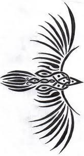 celtic raven Symbols Pagan Tattoo Designs Reminds me of my tribal phoenix It would pair well too. Heidnisches Tattoo, Pagan Tattoo, Body Art Tattoos, Tribal Tattoos, Lizard Tattoo, Crow Tattoos, Polynesian Tattoos, Grey Tattoo, Geometric Tattoos