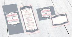 Einladung zur Hochzeit Amena – ein Design im Country-Stil