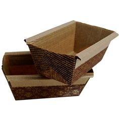 Cookware, Dining & Bar Mini Easi Bake Kraft Loaf Trays/moulds Disposable Free Postage To Prevent And Cure Diseases