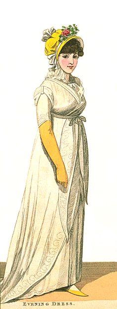 Evening Dress, July 1800.