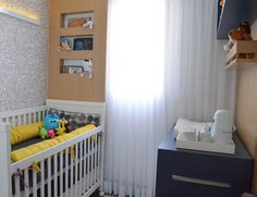 A baby room decorated with monsters. #baby #room #theme #modern #cute #interior #design #casadevalentina