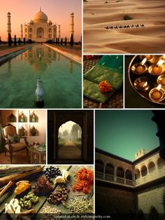 Enchanted India via Style Me Pretty.