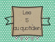 Daily 5 Reading, Teaching Reading, Teaching Tools, Teaching Resources, Classroom Organization, Classroom Management, Classroom Decor, French Resources, Primary Resources