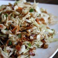My mother in law makes the best cole slaw in the world, if you're into that kinda thing. While we were on vacation, we devoured a batch of this stuff pretty early in the week. Slaw Recipes, Healthy Recipes, Asian Coleslaw, Great Recipes, Favorite Recipes, Yummy Recipes, Recipies, Soup And Salad, Eating Clean