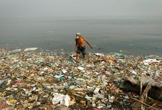 """""""In 2010 there were 8 million metric tons of plastic entering the ocean globally... That's plastic bottles, candy wrappers, laundry baskets, synthetic rope, and syringes. According to Jambeck's calculations, that's like putting five bags of plastic trash on every foot of coastline in the world."""" Jenna Jambeck, and her team have developed an app, called Marine Debris Tracker, that lets anybody report the ocean litter they spot, anywhere in the world. http://www.marinedebris.engr.uga.edu/"""