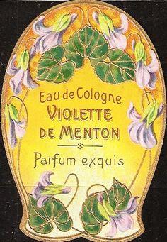 Eau de Cologne Violette de Menton