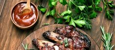 You'll love the combination of the vinegar and sugar in this marinade. Marinate the day before and dinner will be ready in the few minutes it takes you to grill the meat. Serve with a garden salad with crumbled blue cheese and you have a perfect steak house meal at home. You can also use this marinade to toss red potatoes for roasting or to brush on grilled vegetables.