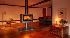 Opus Tempo Double Sided Stoves