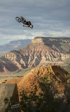 Amazing footage from Red Bull Rampage event | dirt bike | off-road | motorcycles
