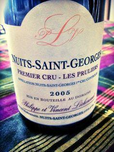El Alma del Vino.: Philippe et Vincent Léchernaut Nuits-Saint-Georges Premier Cru Les Pruliers 2005.