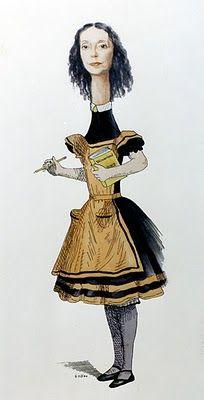 Joyce Carol Oates as Alice; Wonderland by Dallas Piotrowski