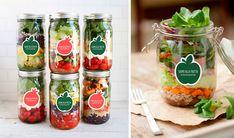 siamo alla frutta milano salad jar