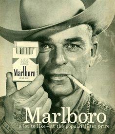 Marlboro Man 1958 Cowboy 3 - Mad Men Art: The 1891-1970 Vintage Advertisement Art Collection