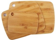 Core Bamboo 10488AM Amazon Exclusive Bamboo Cutting Board Set, 3-Piece by Core Bamboo. $14.90. Features same integrity as larger heavier boards, but is lighter and easier to store. Small, medium and large, light-weight cutting boards by core bamboo; measures 8 by 6 by 0.4, 11 by 8.5 by 0.4 and 13 by 9-1/2 by 0.4-inch. Thinner design makes for easier transport in and around your kitchen. Durable for any kitchen prep, beautiful enough to serve food in style. Knife-fr...