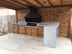 Santiago-quinchos-44 Backyard Patio, Barbecue, Goals, Awesome, Room, Furniture, Ideas, Home Decor, Home