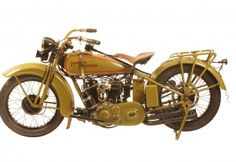 "George Pardos Collection ""Evolution of the Harley-Davidson Motorcycle"": 1929 Harley Davidson D Twin"