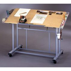 Adjustable Craft and Drawing Table