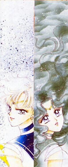 Sailor Uranus & Neptun