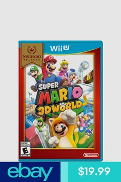 Super Mario World Selects (Nintendo Wii U) Wii U Games, Epic Games, Luigi, Princesa Peach, Super Mario 3d, Stars Play, Play Roblox, Cosmetic Items, Pixies