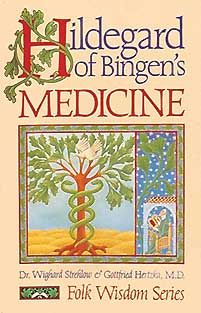 Hildegard of Bingen 12th century legendary healer, visionary, musician, artist, poet, and saint. Her works include seventy-seven symphonic compositions; Scivias, a compilation of her visions; and her two major medical works, Causae et Curae, the first christian medical compendium, and Physica – nine volumes on natural healing.