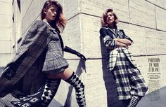 Fashion Review: Marlena Szoka And Mariska Van Der Zee By Alessio Bolzoni For Glamour France September 2013