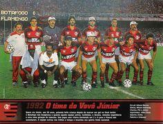 Flamengo Campeão Brasileiro 1992.  Eu fui!