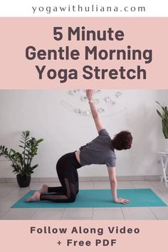 Morning Yoga Stretches, Beginner Morning Yoga, Morning Yoga Routine, Back Yoga Stretches, Morning Yoga Workouts, Morning Yoga Sequences, Cardio Yoga, Beginner Yoga, Pilates Workout