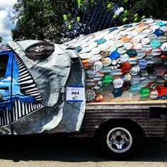 More from the Art Car Parade by @breakawaybackpacker