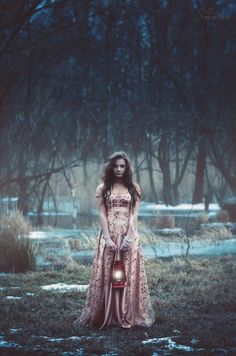 Portrait Photography Inspiration Picture Description forest maiden, fantasy, medieval Photo Nightfall by Alexander Smutko on