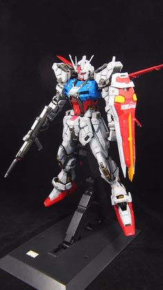 PG 1/60 Perfect Strike Gundam - Customized Build     Modeled by Toymaker