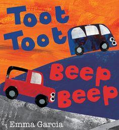 Toot Toot Beep Beep--- Love Emma Garcia's collage work!