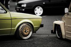 Golf Mk2, Car Wheels, Mk1, Volkswagen Golf, Slammed, German, Cars, Auto Racing, Deutsch