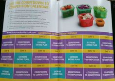 21 Day Fix Countdown To Competition Plan #21DayFixExtreme #CarbDepletion #PhysiqueCompetition