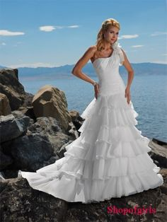 beach wedding dress, wedding dress