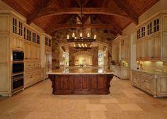 20 Jaw Dropping Luxury Kitchen Design Ideas | Luxury kitchens ...