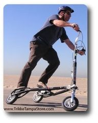 Riding the trikee carving machine is a totaly awesome full body low impact workout. I have owned many forms of workout equipment over the years...
